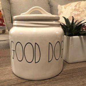 Rae Dunn good dog canister